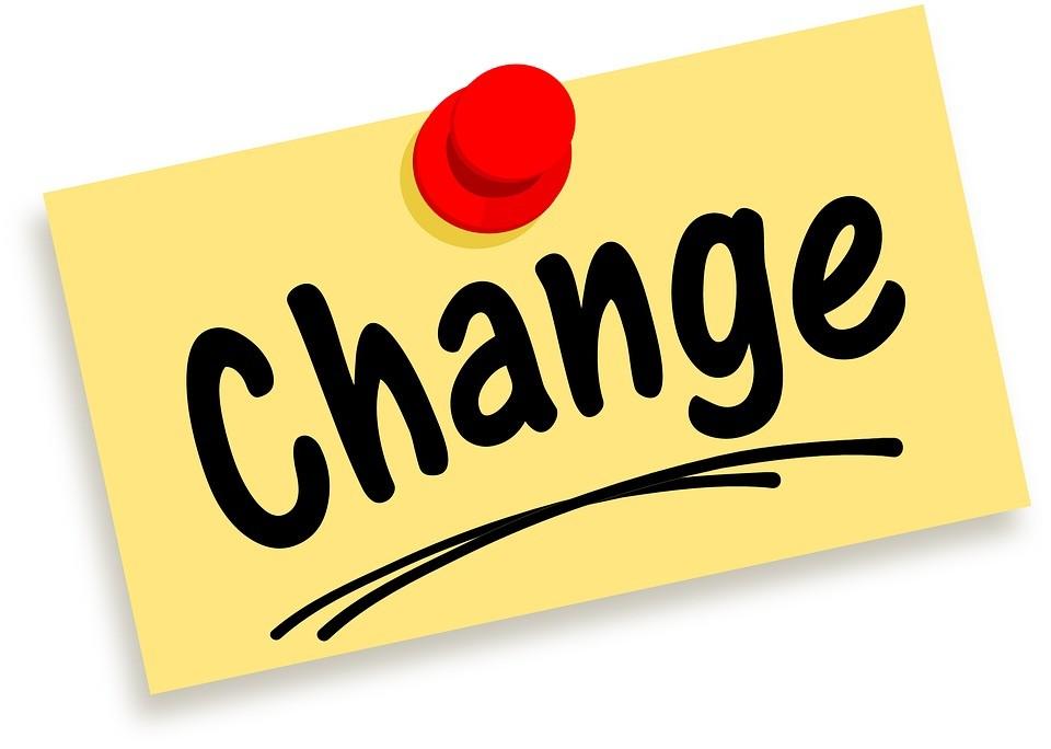 הכל ניתן לשינוי !